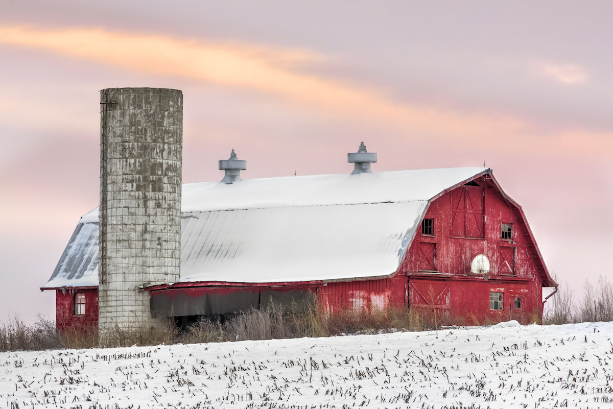 Old Style-Barn in Indiana most popular house styles