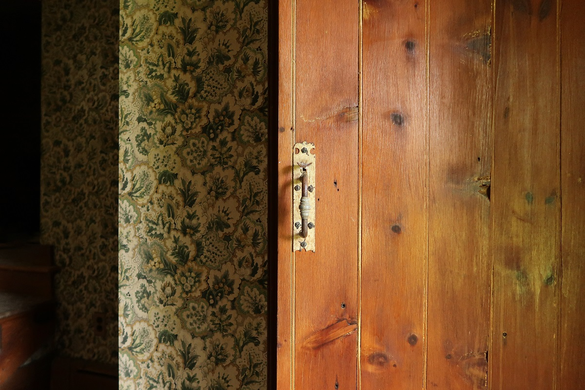 Old Wooden Door in Home Affordable ways to remodel your home