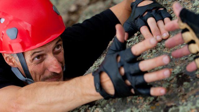Older Man Rock Climbing {Risks You Should Take}