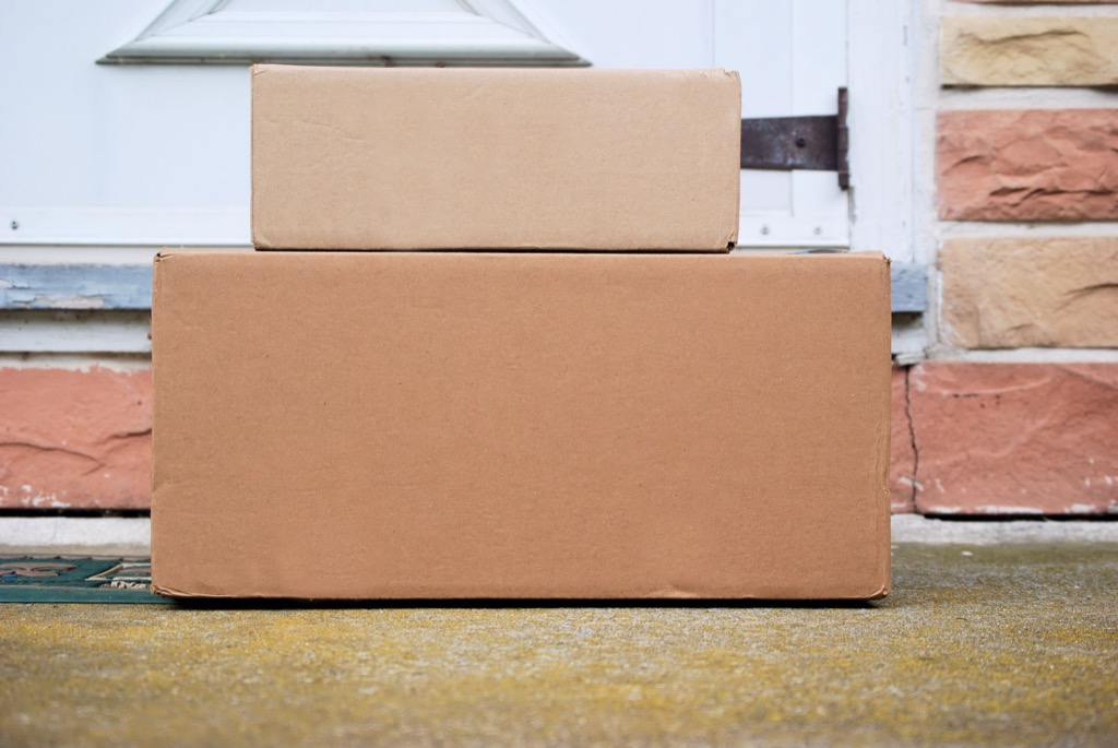 Packages on a Person's Doorstep {Target Shopping Secrets}