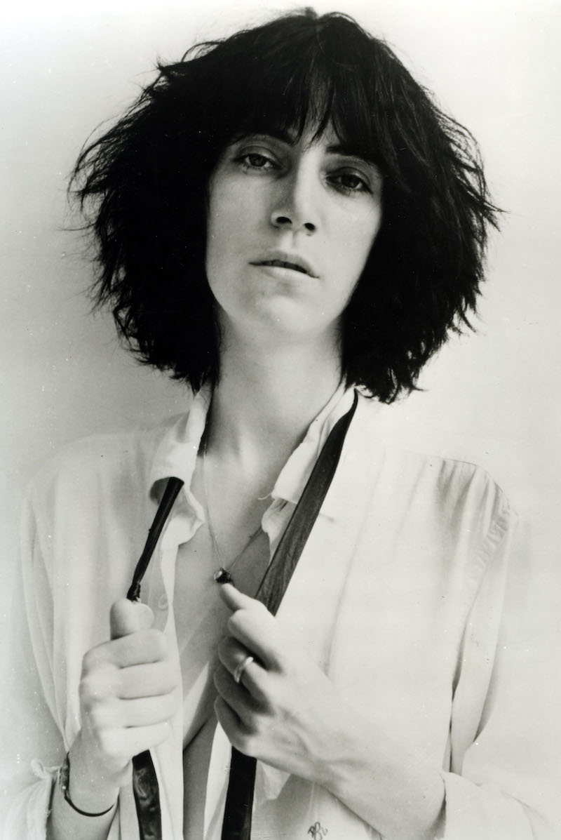 PATTI SMITH Promotional photo of US singer about 1975