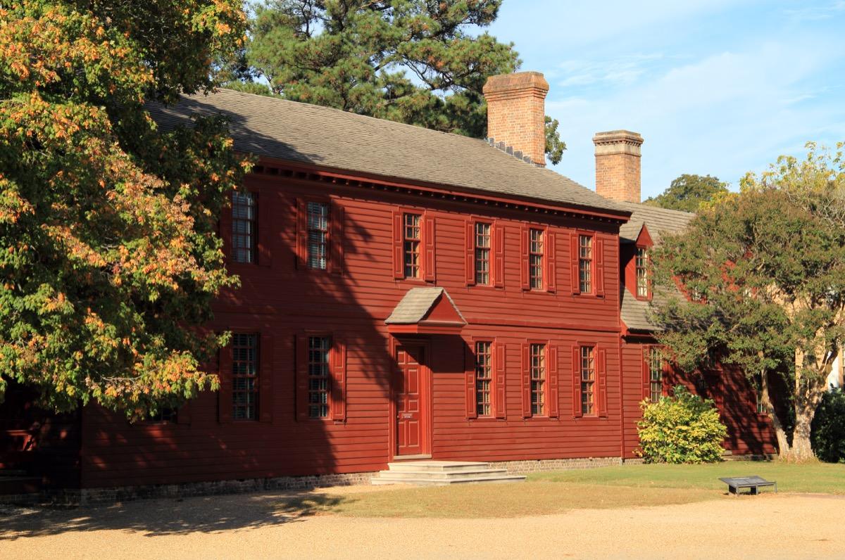 peyton randolph house williamsburg