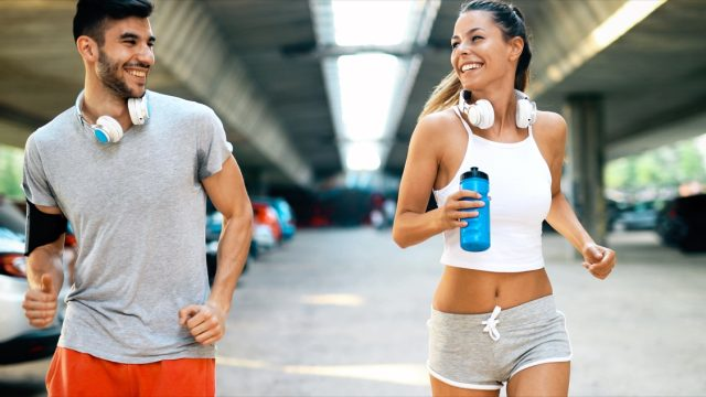 running couple exercise