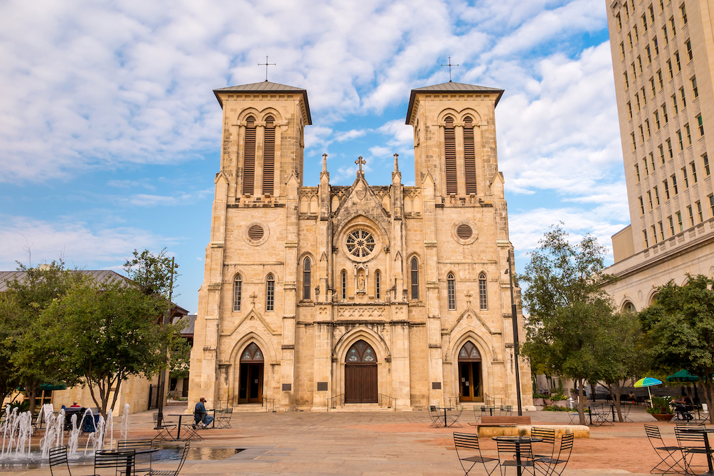 San Fernando Cathedral cursed places in america