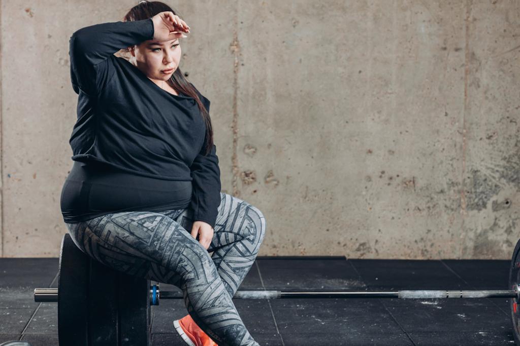 woman bullied at gym
