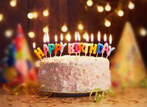 birthday cake at home