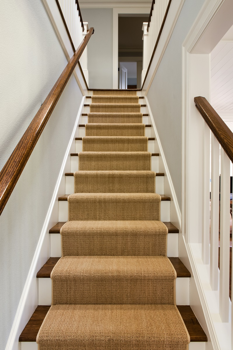 Stair runner in home Affordable ways to remodel your home