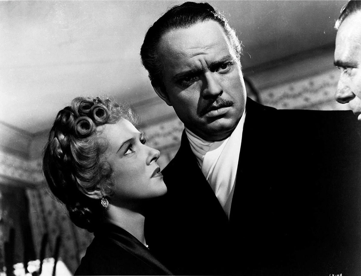 Still of Orson Welles, Ray Collins, and Dorothy Comingore in Citizen Kane (1941)