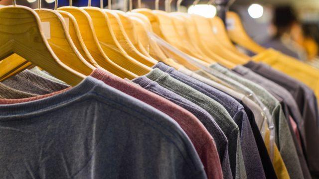 old t-shirts, get rid of kids stuff