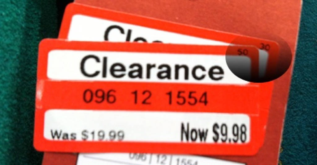 Target Clearance Tag {Target Shopping Secrets}