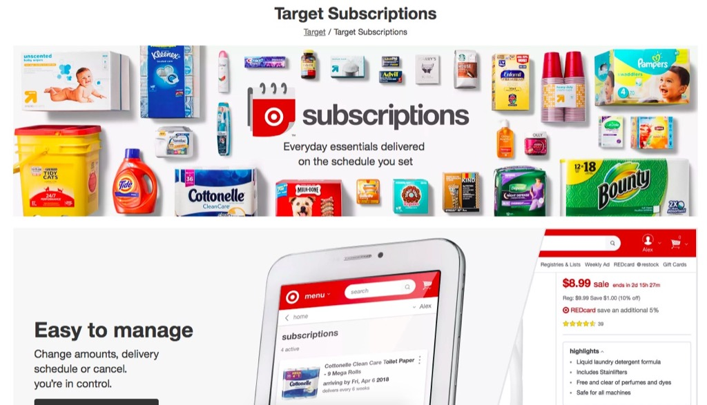 Target Subscriptions {Target Shopping Secrets}