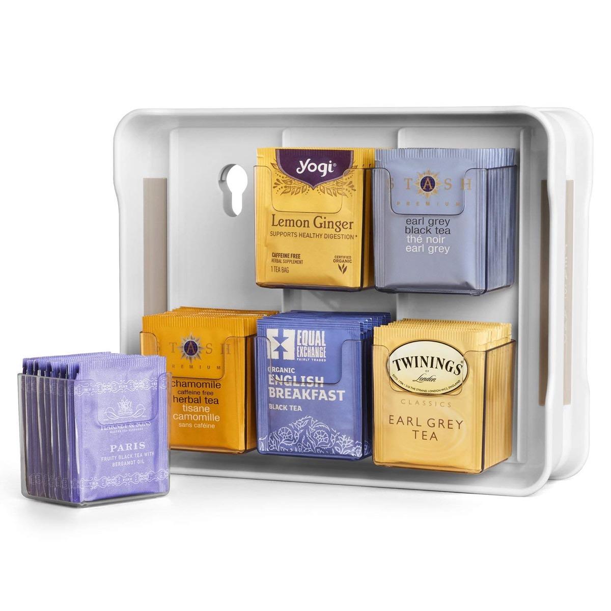 Tea Bag Organizer {Organizational Products on Amazon}