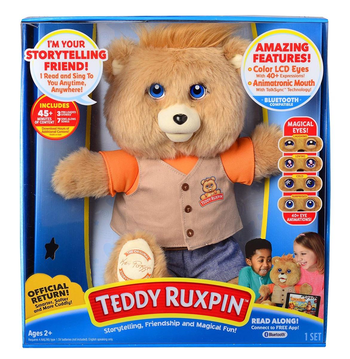teddy ruxpin doll