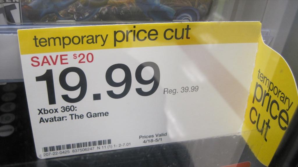 Target Temporary Price Cut {Target Shopping Secrets}