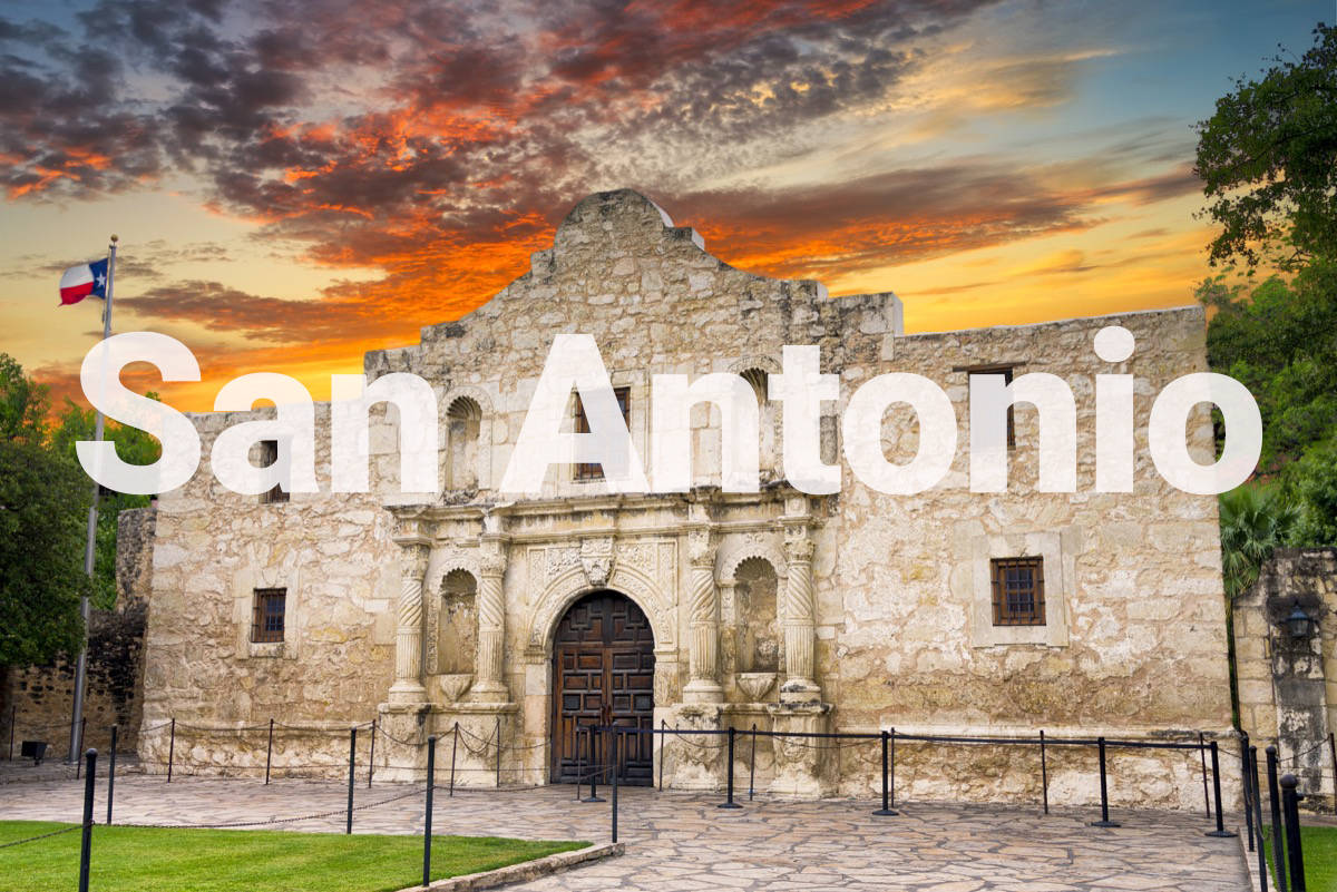 the alamo in san antonio texas