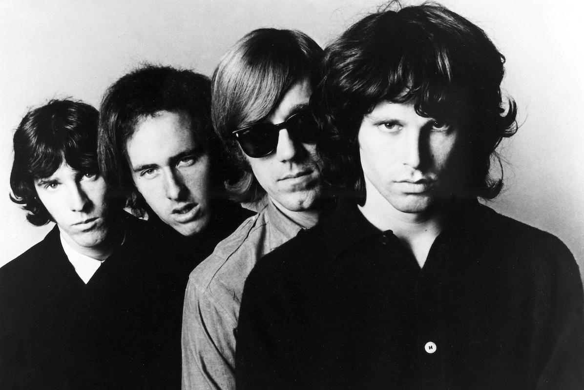 The Doors, Drummer JOHN DENSMORE, Guitarist ROBBY KRIEGER, Keyboardist RAY MANZAREK, Singer JIM MORRISON
