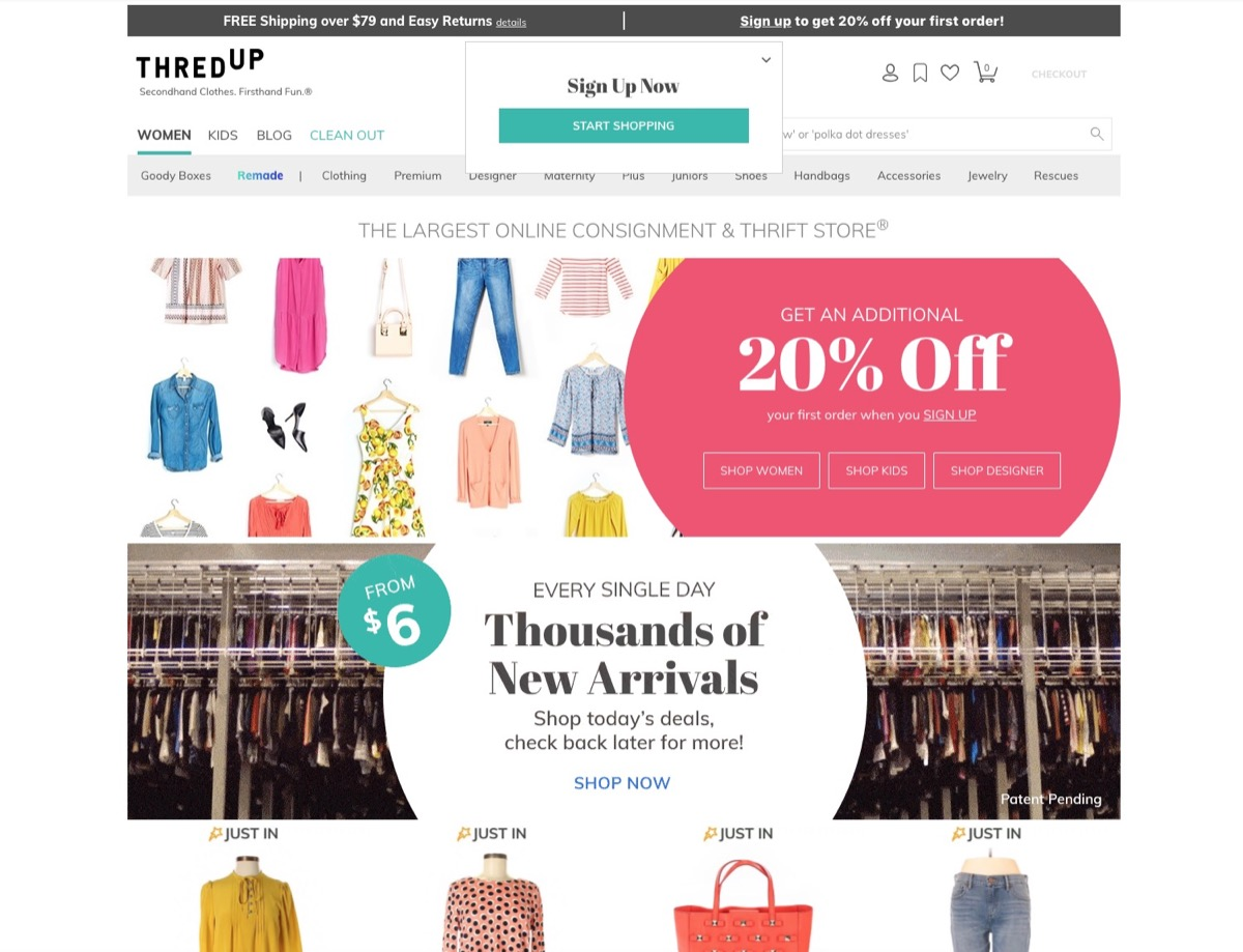 ThredUp {Online Shopping Tips}