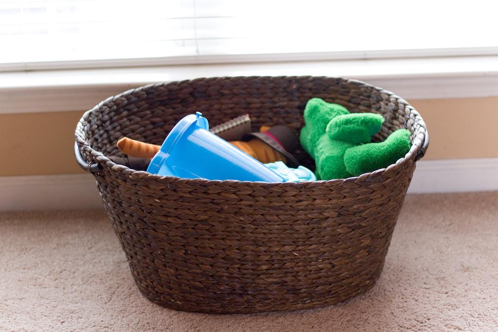 Toys in Basket