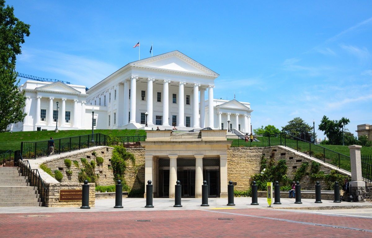 Capital Building in Richmond Virginia