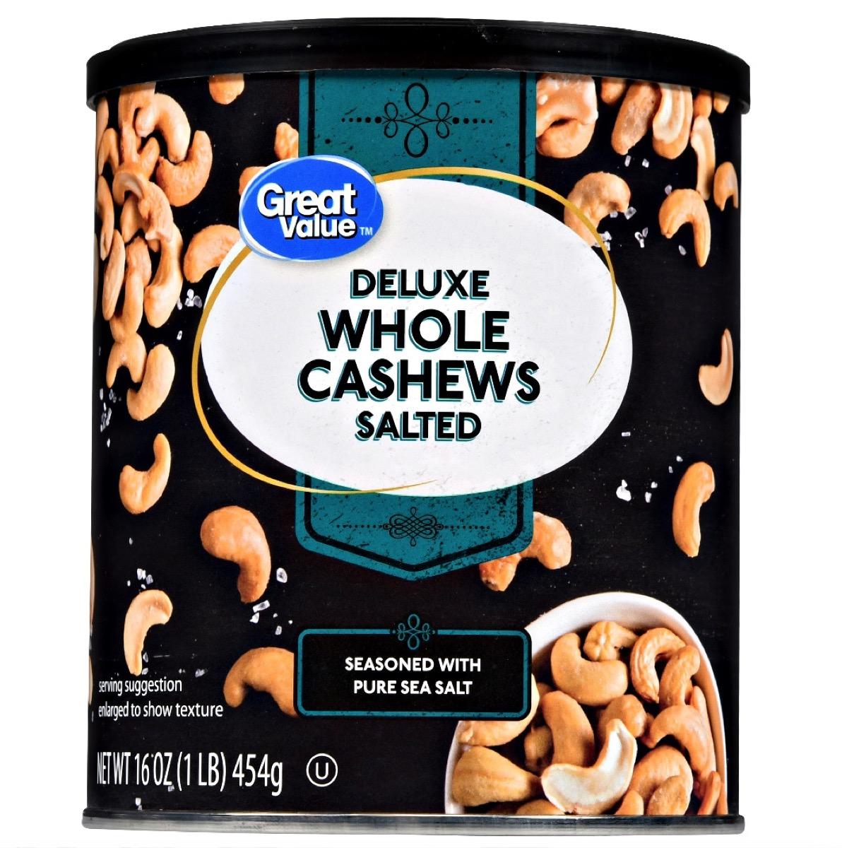 Walmart Salted Cashews {Best Generic Products from Walmart}