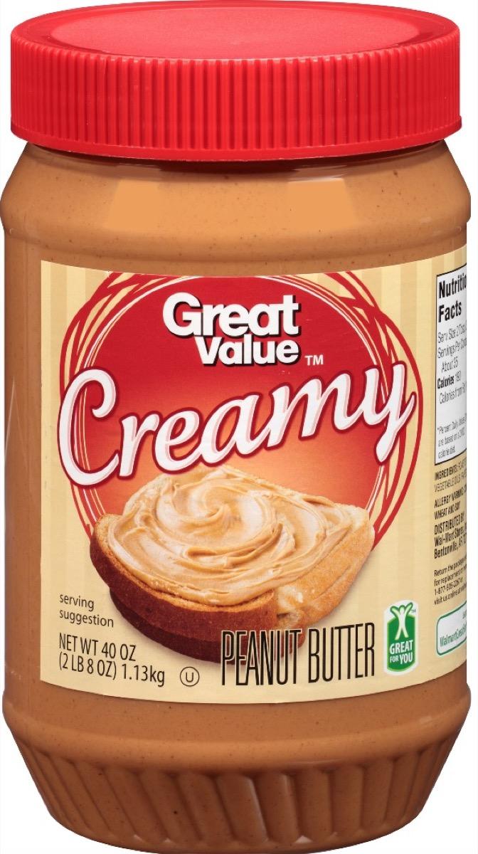 Walmart Great Value Peanut Butter
