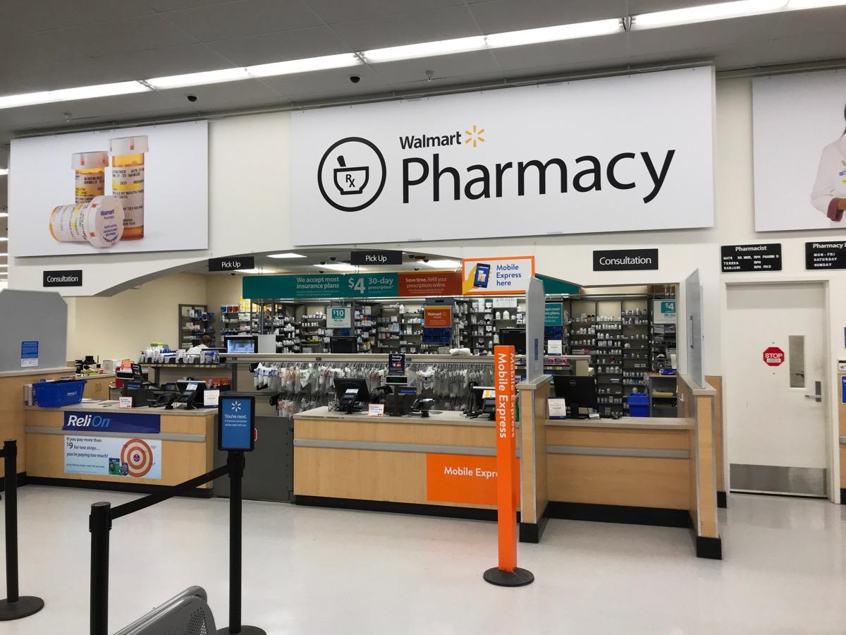 Walmart Pharmacy {Walmart Shopping Secrets}