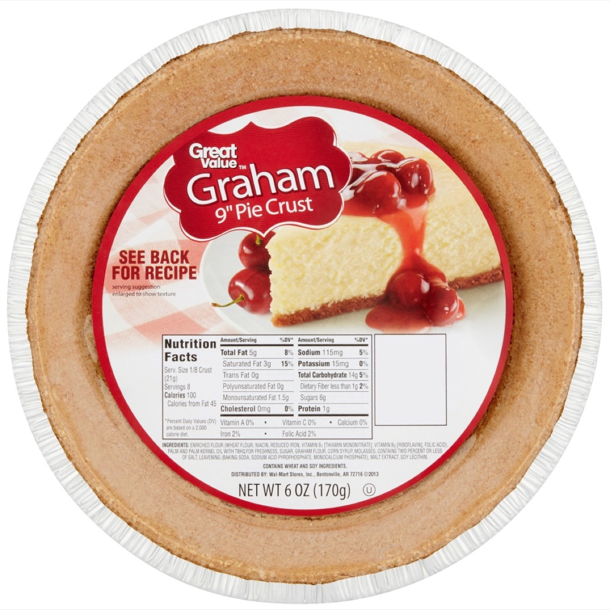 Walmart Great Value Pie Crusts