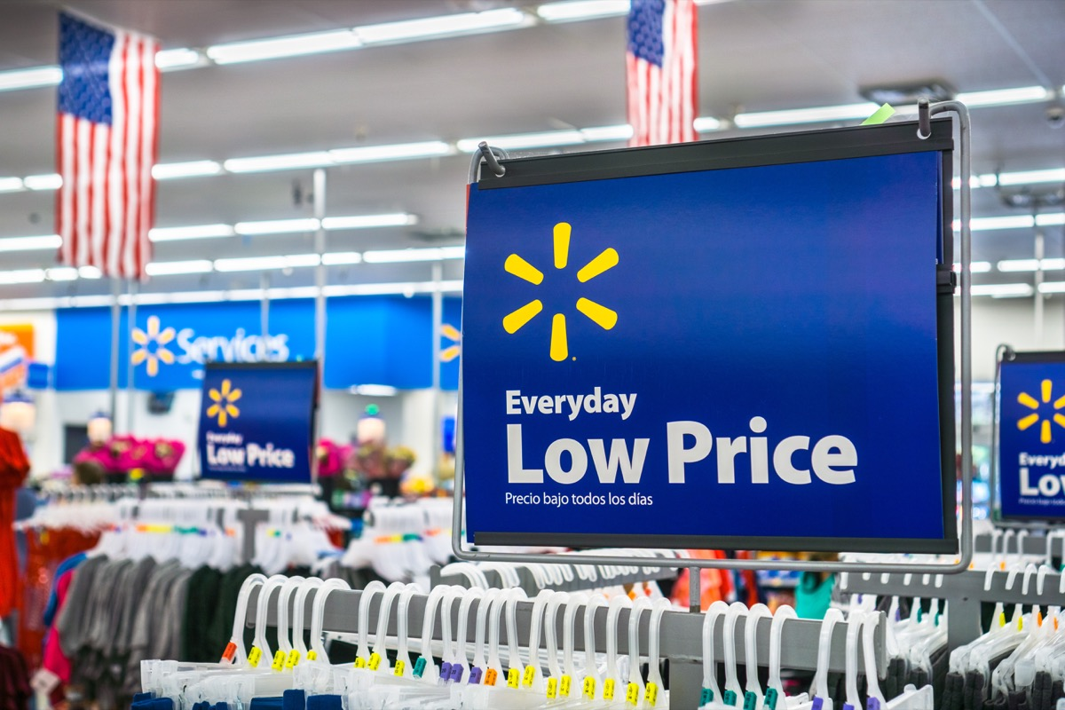 Shopping Inside a Walmart Store {Discounts For Old Items}
