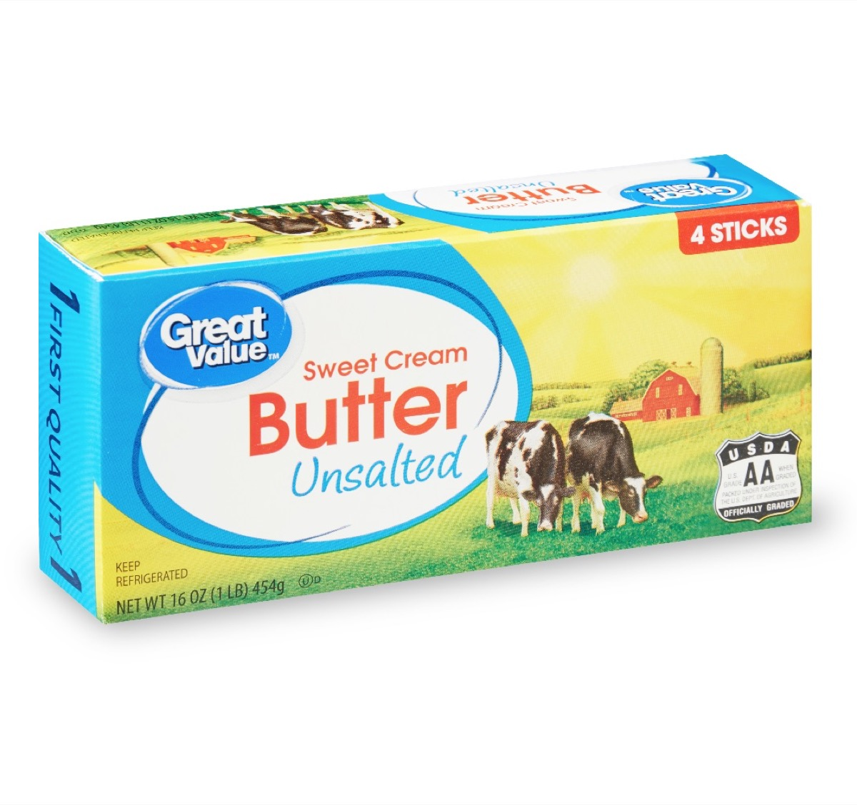Great Value Unsalted Butter