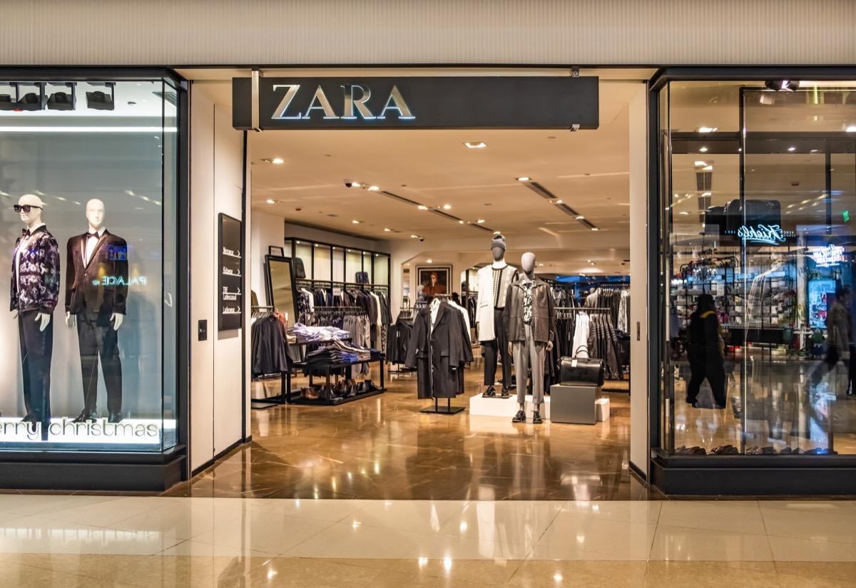 zara storefront Retail Store Layouts