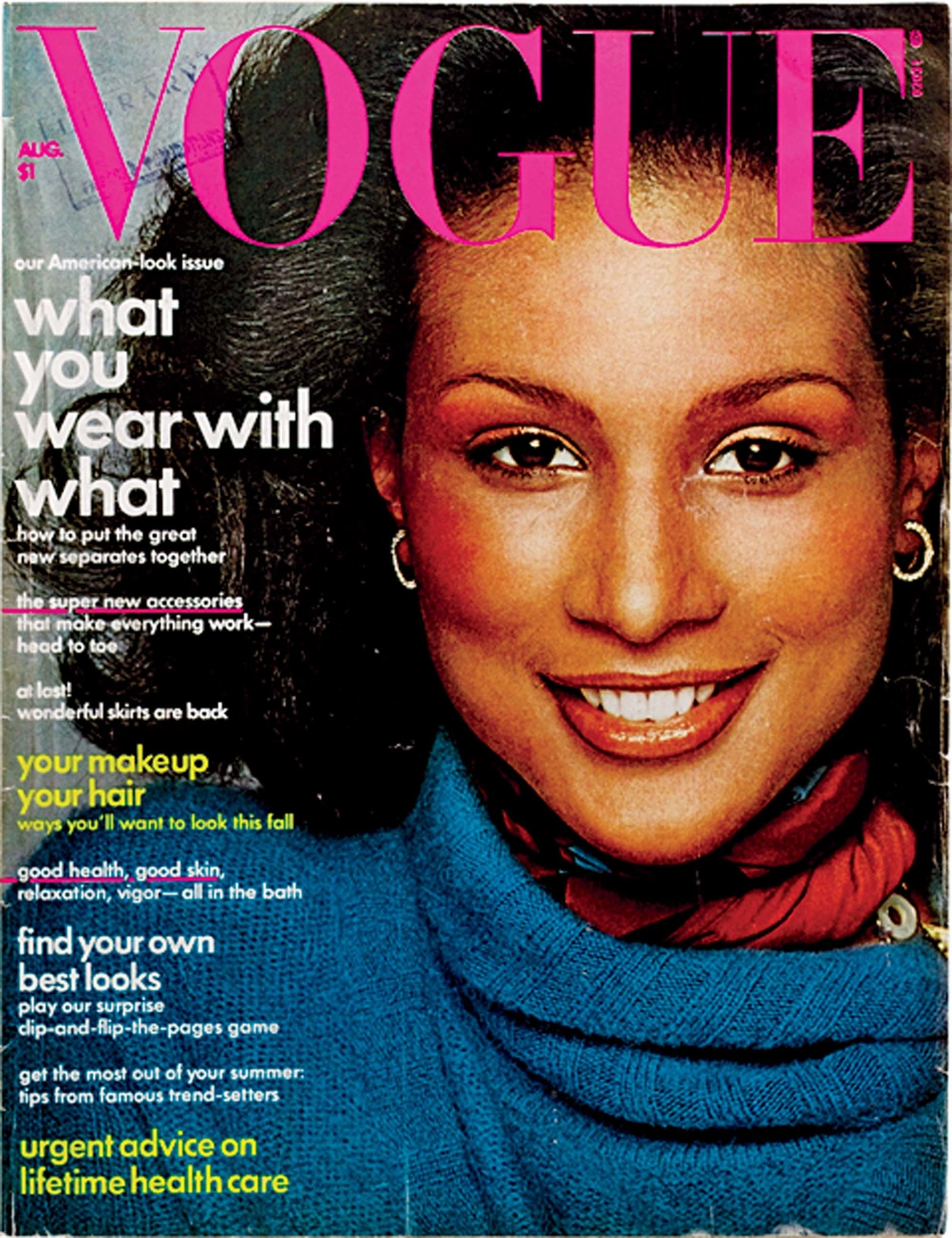 vogue cover beverly johnson