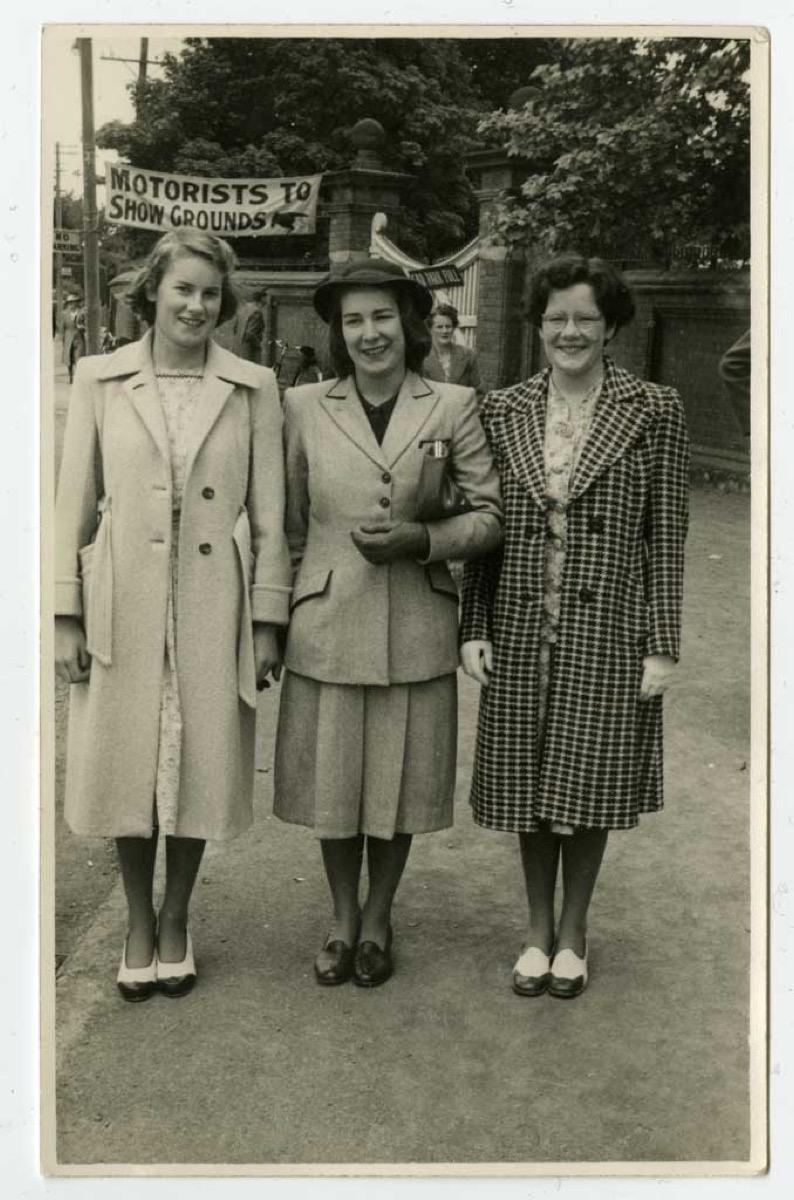 Women Wearing Flats in the 1940s