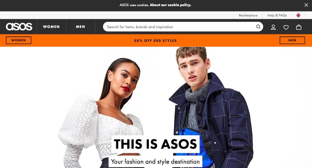 ASOS Website {Save Money on Athletic Wear}