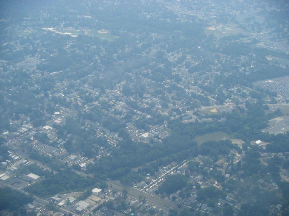 aerial view of audubon new jersey