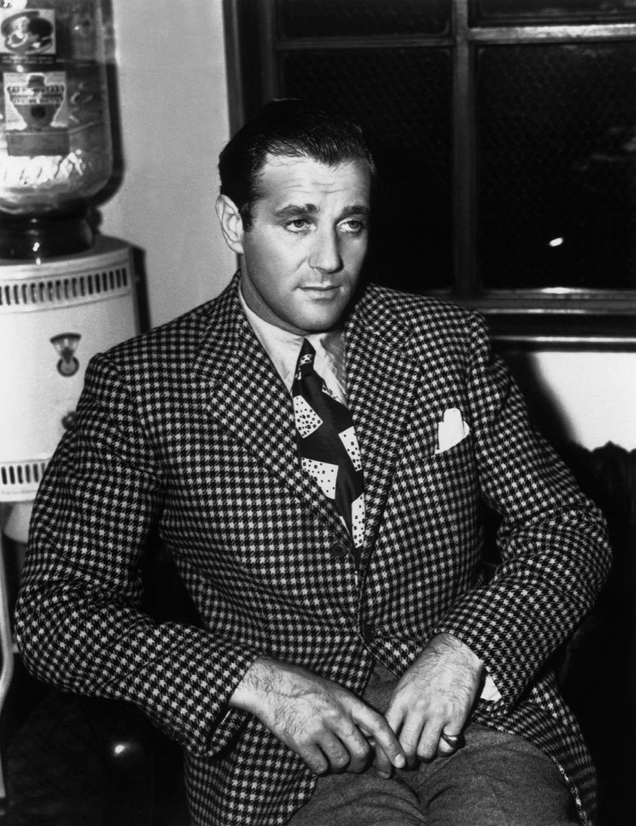 BPTX3T BENJAMIN BUGSY SIEGEL GANGSTER (1940)