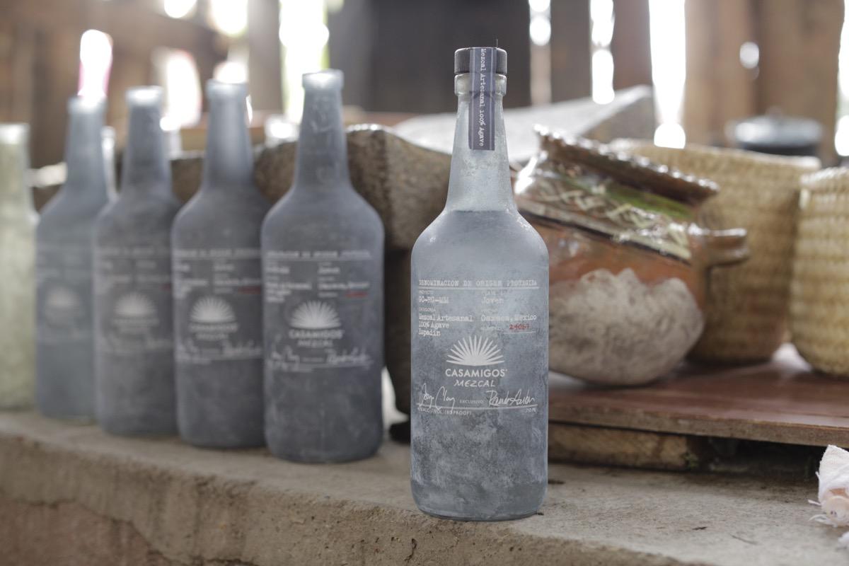 casamigos mezcal bottles