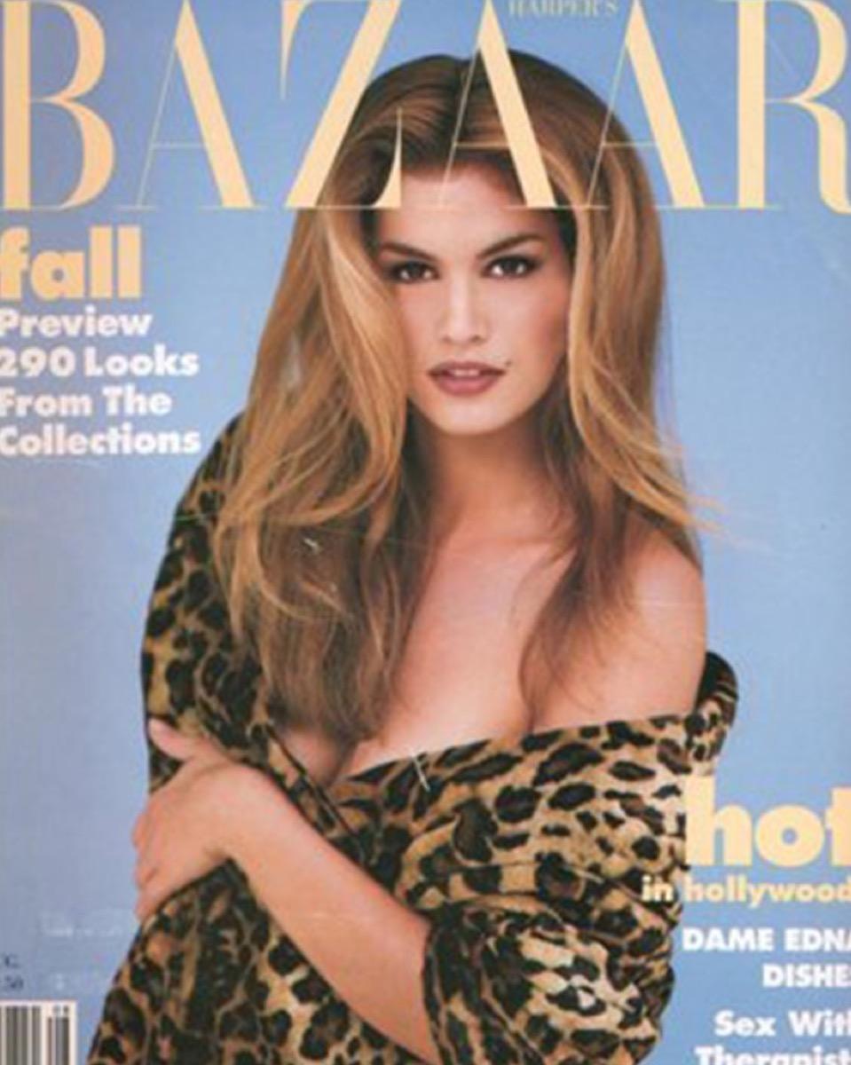 Cindy Crawford Magazine Cover