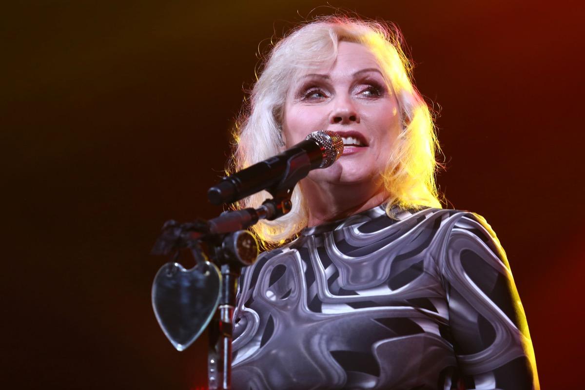 Debbie Harry - glam rock