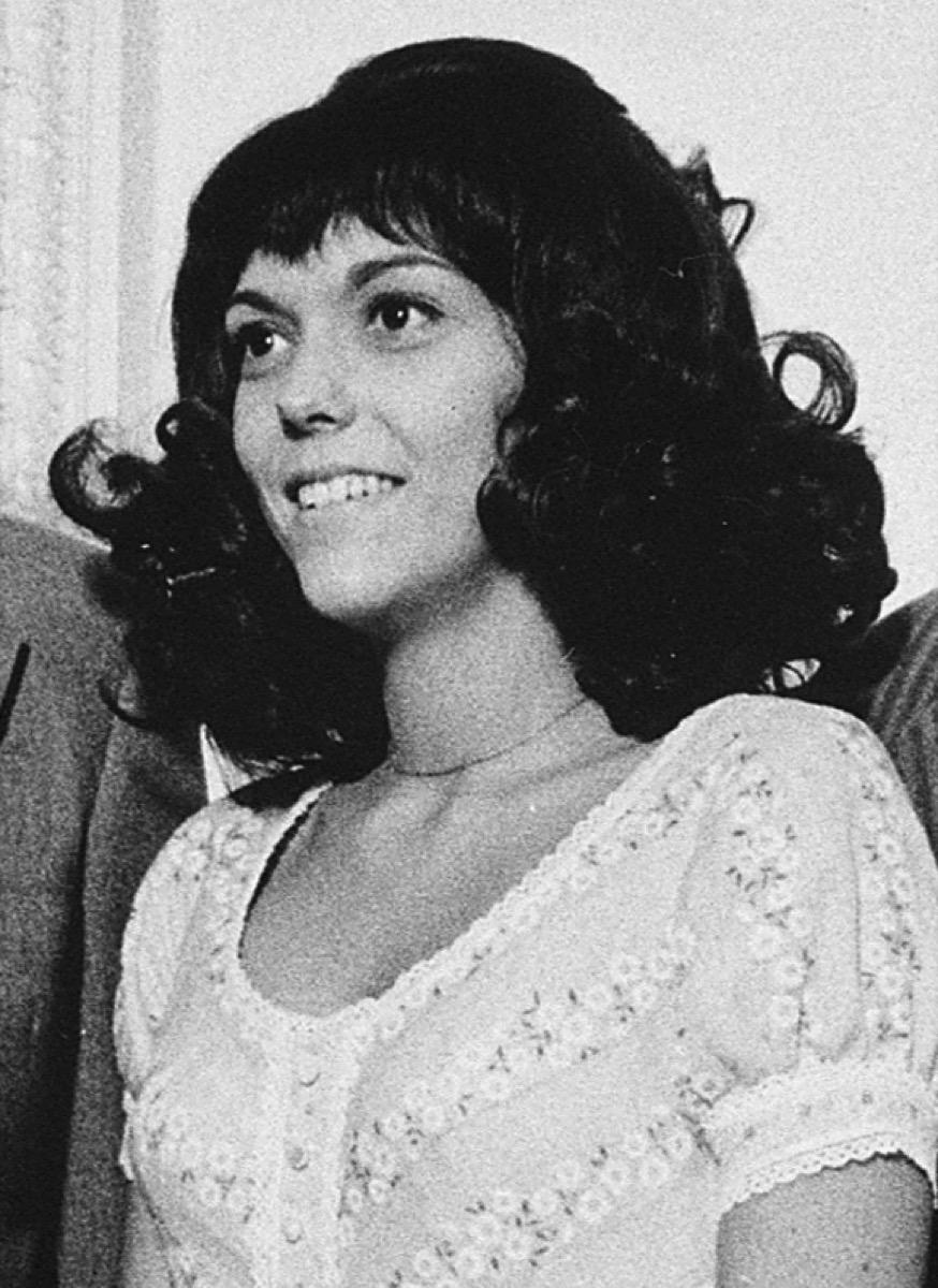 Karen Carpenter in the White House, August 1, 1972