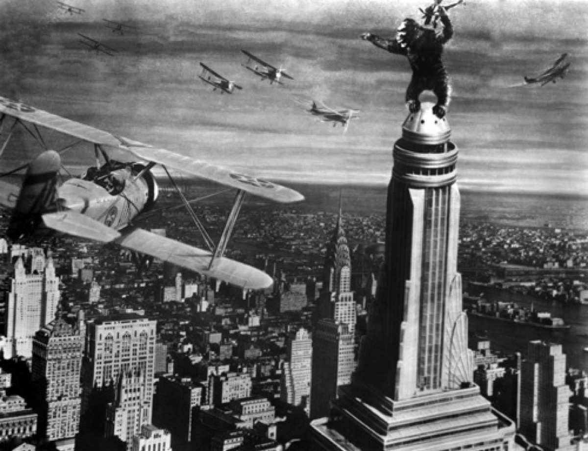 King Kong in King Kong (1933) movies on rotten tomatoes with the highest ratings