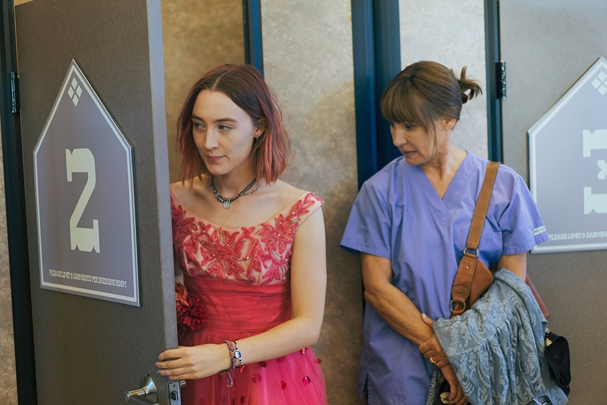 lady bird movies on rotten tomatoes with the highest ratings