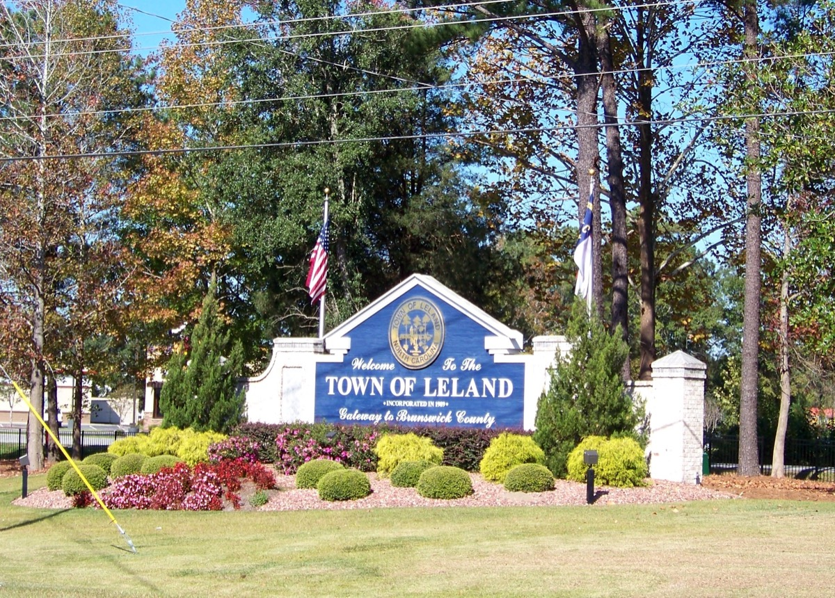 Welcome to the Town of Leland, North Carolina