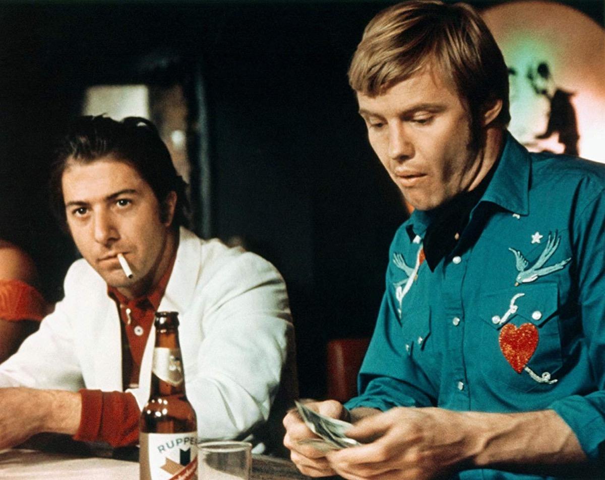 Dustin Hoffman and Jon Voight in Midnight Cowboy (1969)