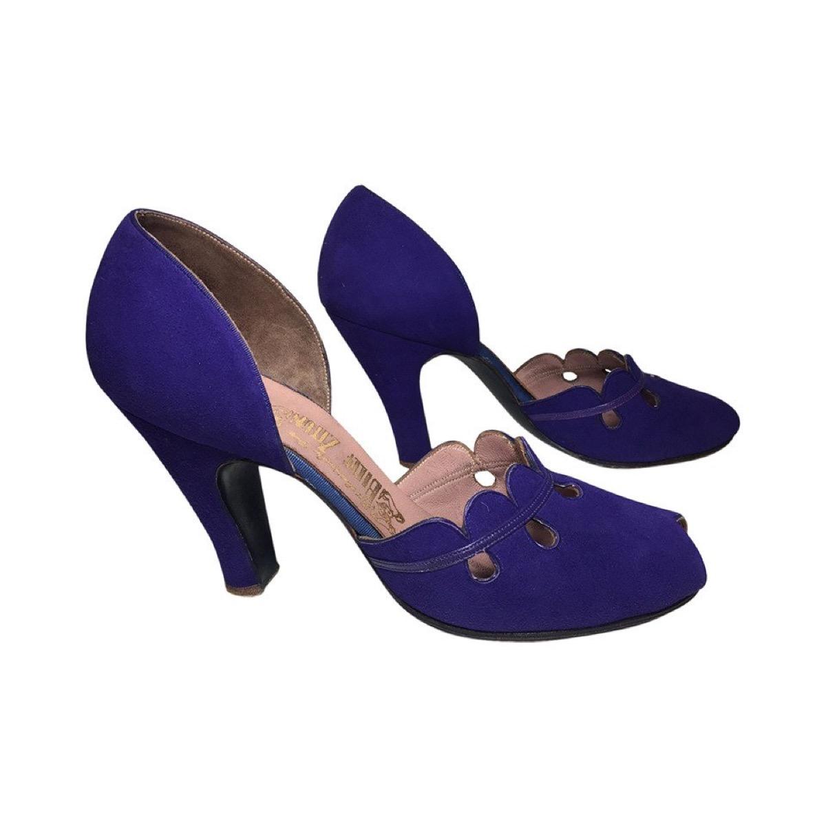 Ruffle-Pumps-1940s-shoe