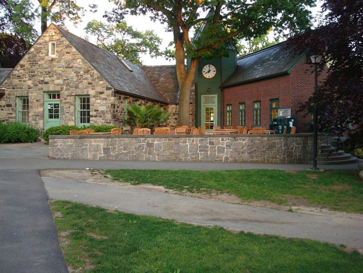 Siegel student center at Sarah Lawrence College