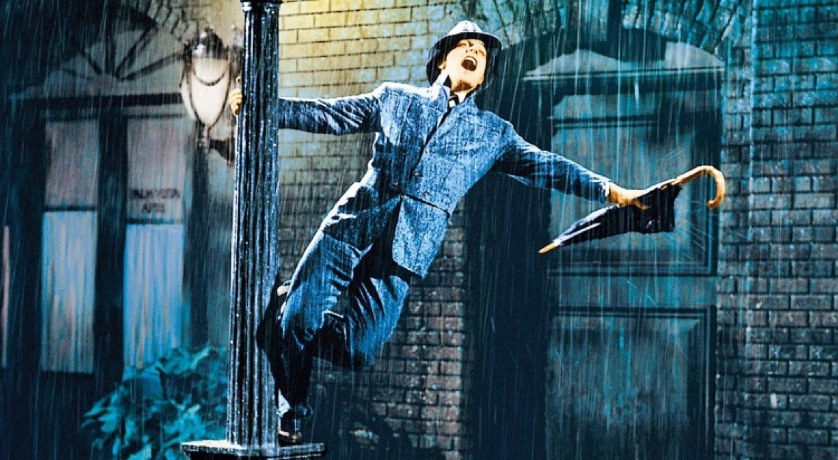 Gene Kelly in Singin' in the Rain (1952) movies on rotten tomatoes with the highest ratings