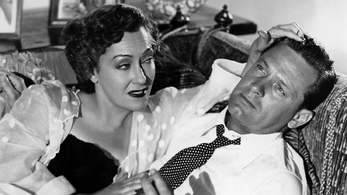 William Holden and Gloria Swanson in Sunset Blvd. (1950)