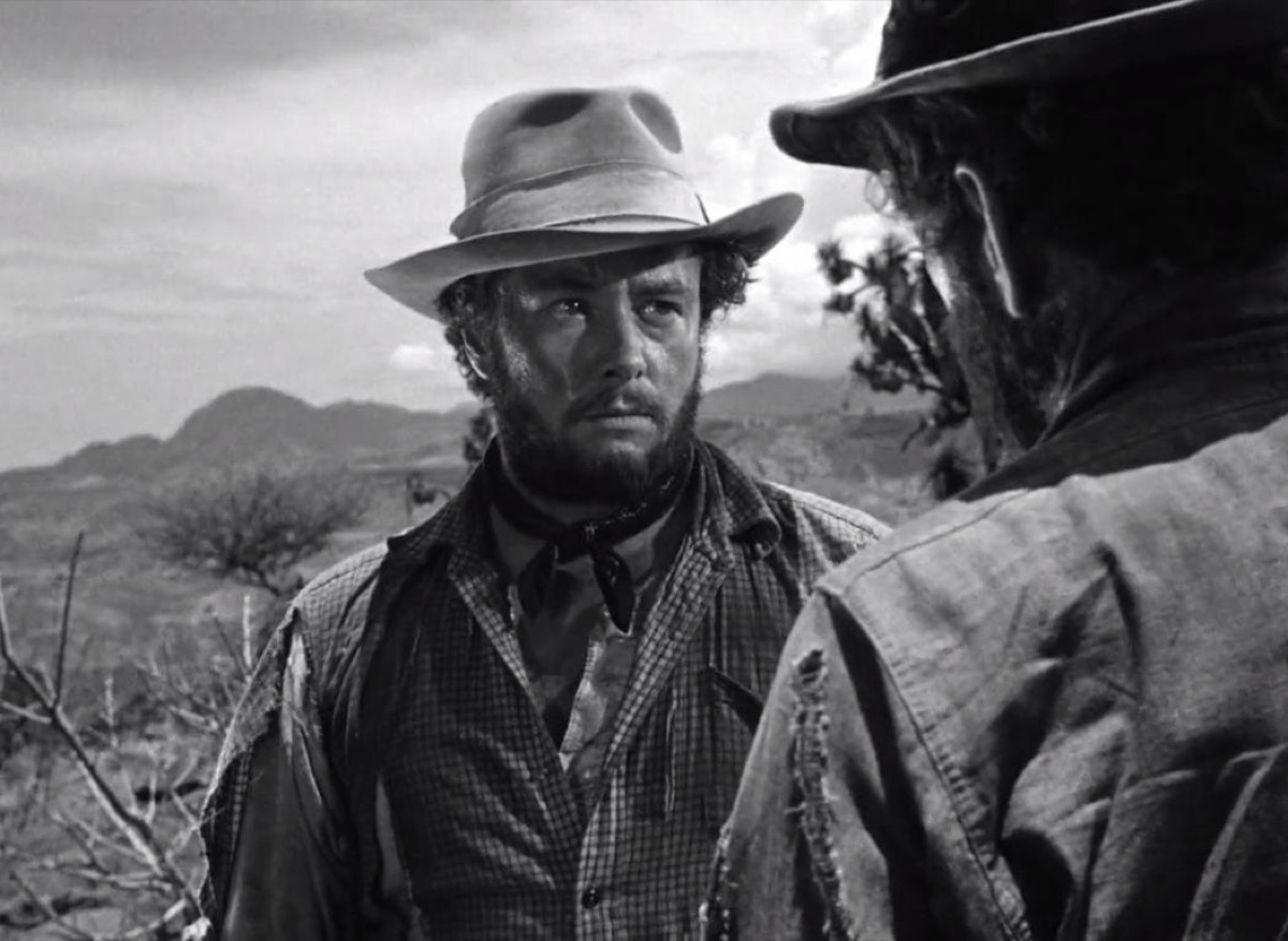 Humphrey Bogart and Tim Holt in The Treasure of the Sierra Madre (1948)