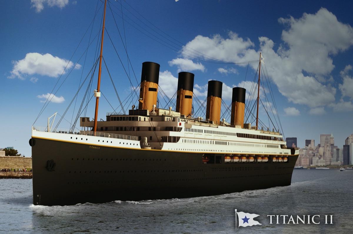 3D rendering of Titanic II