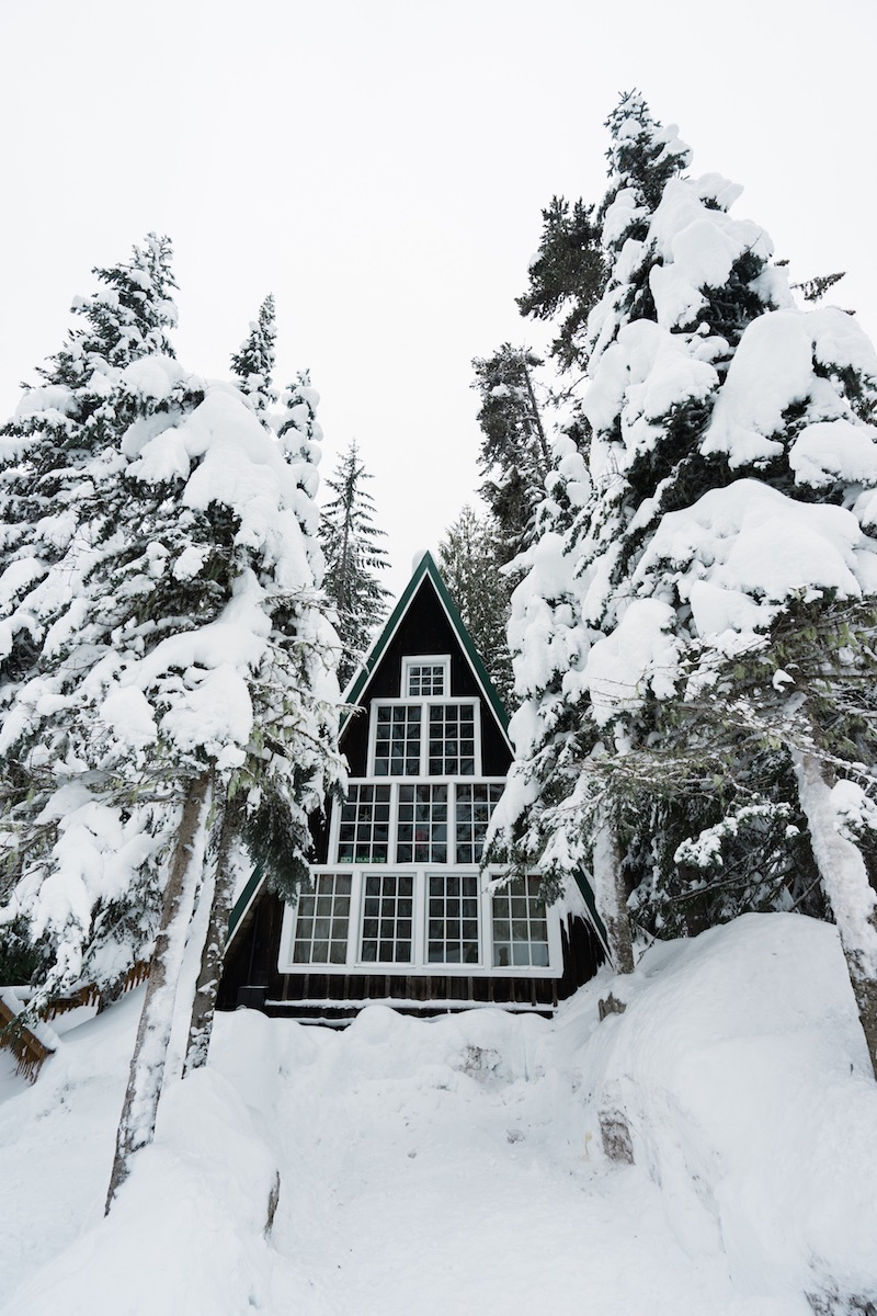 A-frame cottage Oregon most popular house styles